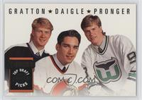 Alexandre Daigle, Chris Gratton, Chris Pronger