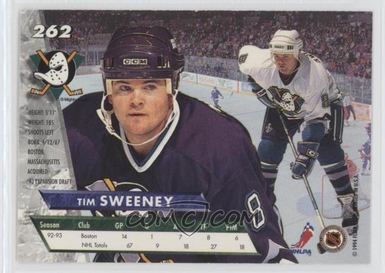 1993-94 Fleer Ultra - [Base] #262 - Tim Sweeney
