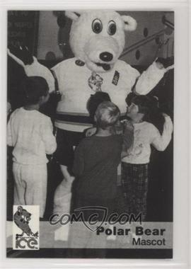 1993-94 Indianapolis Ice Team Issue - [Base] #POBE - Polar Bear