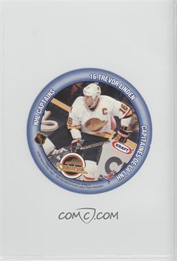 1993-94 Kraft - NHL Captains Discs #TLTL - Trevor Linden, Troy Loney