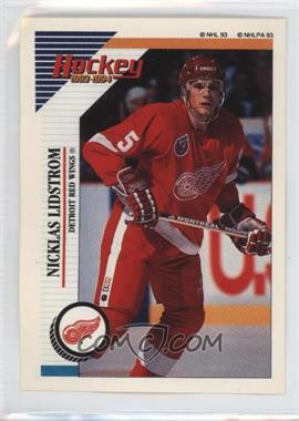 1993-94 Panini Album Stickers - [Base] #253 - Nicklas Lidstrom