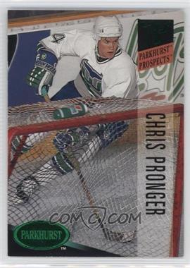 1993-94 Parkhurst - [Base] - Emerald Ice #249 - Chris Pronger