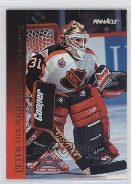 1993-94 Pinnacle - All-Stars #17 - Peter Sidorkiewicz