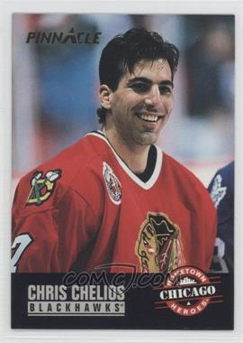 1993-94 Pinnacle - [Base] #233 - Chris Chelios