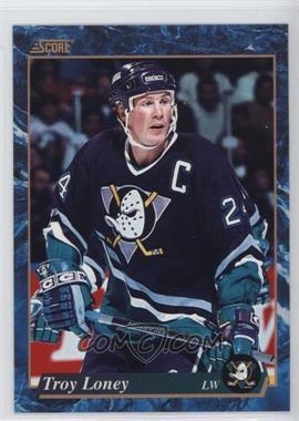 1993-94 Score - [Base] - American #547 - Troy Loney