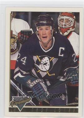 1993-94 Topps Premier - [Base] - Gold Premier #340 - Troy Loney