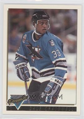 1993-94 Topps Premier - [Base] - Gold Premier #348 - Dale Craigwell