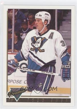 1993-94 Topps Premier - [Base] - Gold Premier #369 - Todd Ewen