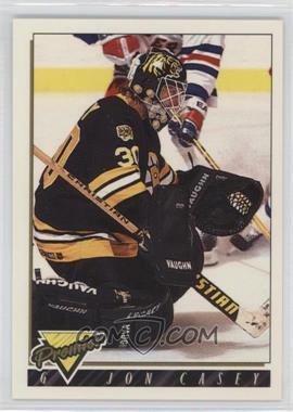 1993-94 Topps Premier - [Base] #437 - Jon Casey