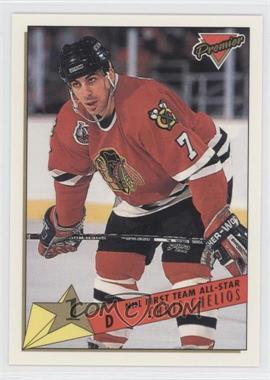 1993-94 Topps Premier - [Base] #94 - Chris Chelios