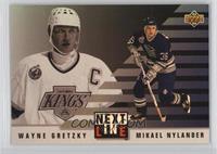 Wayne Gretzky, Michael Nylander [Noted]
