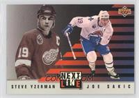 Steve Yzerman, Joe Sakic