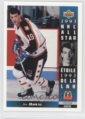 1993-94 Upper Deck McDonald's - [Base] #McD-24 - Joe Sakic
