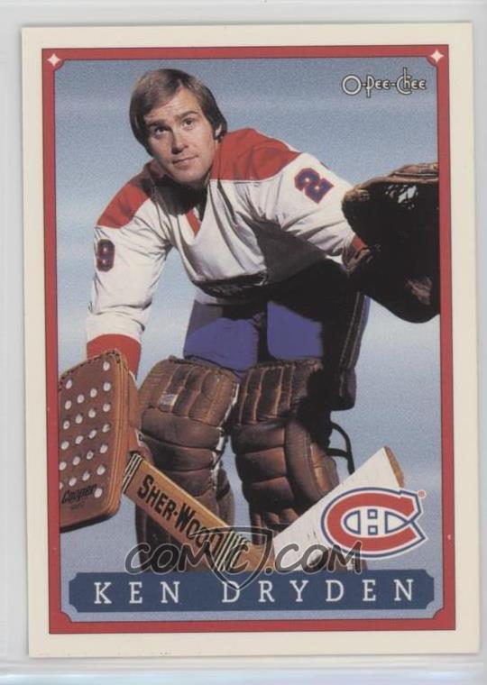 1993 O Pee Chee Montreal Canadiens Hockey Fest Base 51