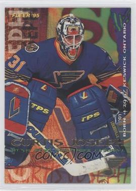 1994-95 Fleer - [Base] #188 - Curtis Joseph
