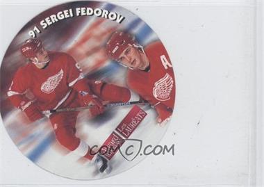 1994-95 Kraft Discs - [Base] #SEFE - Sergei Fedorov