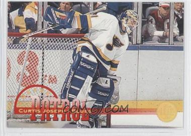 1994-95 Leaf - Crease Patrol #3 - Curtis Joseph