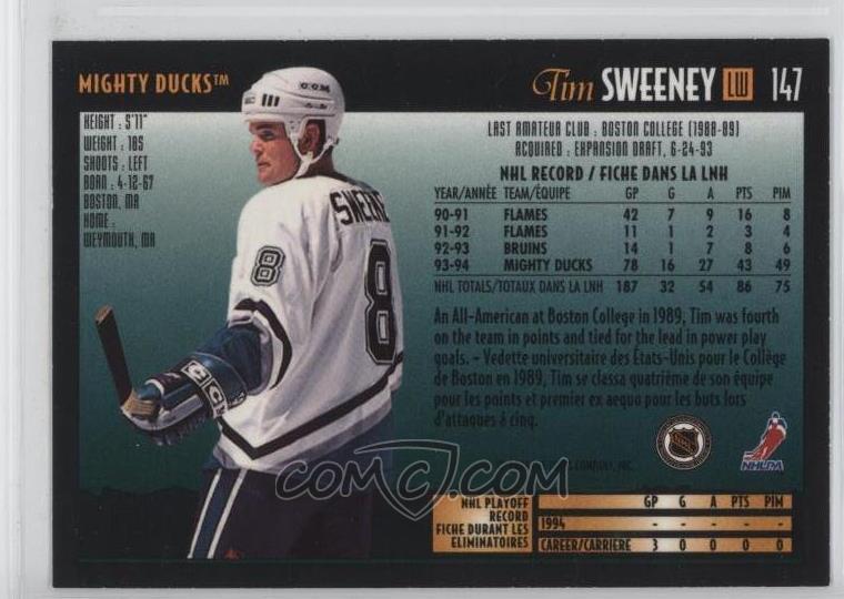 1994-95 O-Pee-Chee Premier - [Base] #147 - Tim Sweeney
