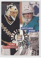 Arturs Irbe, Tom Barrasso