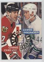 Chris Chelios, Chris Pronger