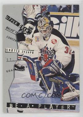 1994-95 Upper Deck Be a Player - [Base] #R101 - Curtis Joseph