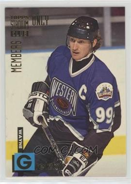 1994 Topps Stadium Club Members Only - Box Set [Base] #5 - Wayne Gretzky