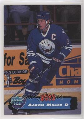 1995-96 Collector's Edge Ice - [Base] #29 - Aaron Miller