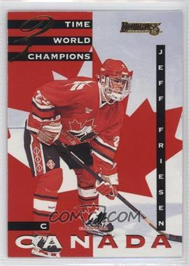 1995-96 Donruss - Canadian World Junior Team #21 - Jeff Friesen