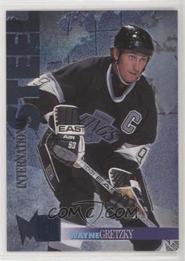 1995-96 Fleer Metal - International Steel #5 - Wayne Gretzky