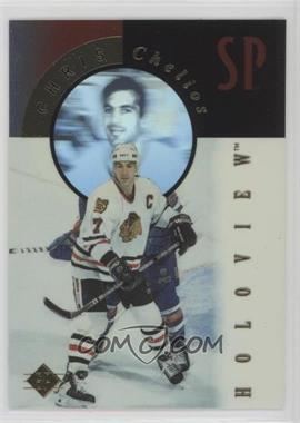 1995-96 SP - Holoview #FX3 - Chris Chelios