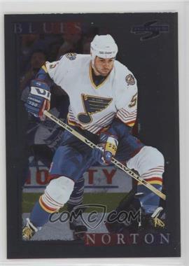 1995-96 Score - [Base] - Black Ice #178 - Jeff Norton