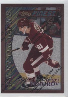 1995-96 Topps Finest - [Base] #186 - Sergei Fedorov