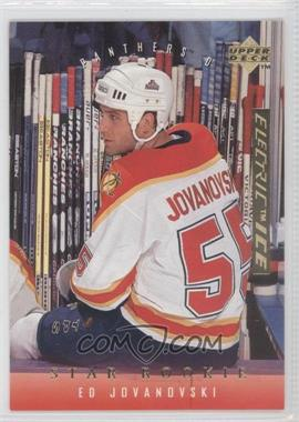 1995-96 Upper Deck - [Base] - Gold Electric Ice #501 - Ed Jovanovski
