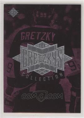 1995-96 Upper Deck - Multi-Product Insert Wayne Gretzky's Record Collection #CLSP - SP Checklist