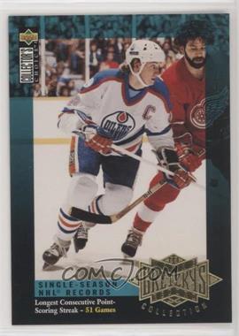 1995-96 Upper Deck - Multi-Product Insert Wayne Gretzky's Record Collection #G5 - Wayne Gretzky