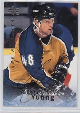 1995-96 Upper Deck Be a Player - [Base] - Autographs [Autographed] #S107 - Scott Young