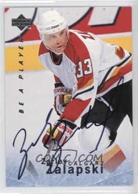 1995-96 Upper Deck Be a Player - [Base] - Autographs [Autographed] #S108 - Zarley Zalapski