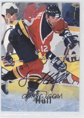 1995-96 Upper Deck Be a Player - [Base] - Autographs [Autographed] #S110 - Jody Hull