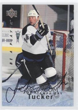 1995-96 Upper Deck Be a Player - [Base] - Autographs [Autographed] #S120 - John Tucker