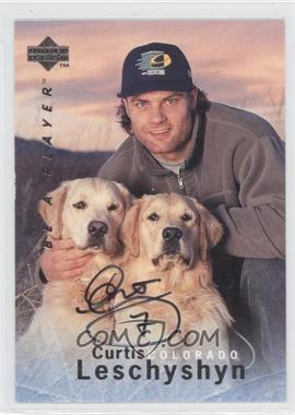 1995-96 Upper Deck Be a Player - [Base] - Autographs [Autographed] #S129 - Curtis Leschyshyn