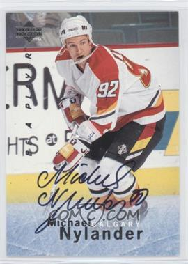 1995-96 Upper Deck Be a Player - [Base] - Autographs [Autographed] #S148 - Michael Nylander