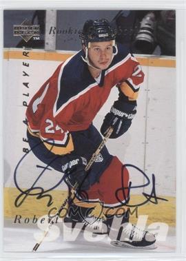 1995-96 Upper Deck Be a Player - [Base] - Autographs [Autographed] #S169 - Robert Svehla