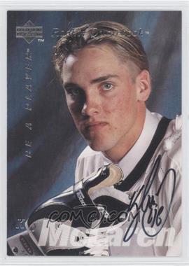 1995-96 Upper Deck Be a Player - [Base] - Autographs [Autographed] #S173 - Kyle McLaren