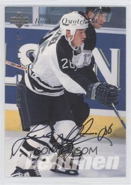 1995-96 Upper Deck Be a Player - [Base] - Autographs [Autographed] #S175 - Jere Lehtinen