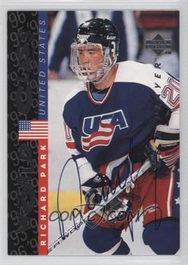 1995-96 Upper Deck Be a Player - [Base] - Autographs [Autographed] #S185 - Richard Park