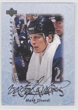 1995-96 Upper Deck Be a Player - [Base] - Autographs [Autographed] #S220 - Mark Tinordi