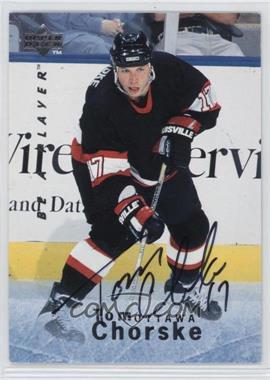 1995-96 Upper Deck Be a Player - [Base] - Autographs [Autographed] #S43 - Tom Chorske