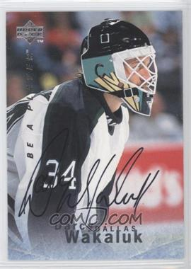 1995-96 Upper Deck Be a Player - [Base] - Autographs [Autographed] #S90 - Darcy Wakaluk