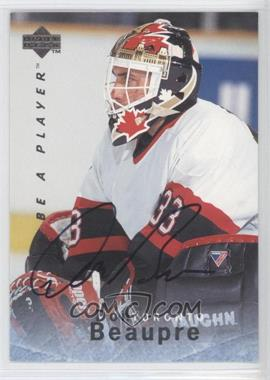 1995-96 Upper Deck Be a Player - [Base] - Autographs [Autographed] #S96 - Don Beaupre
