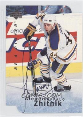 1995-96 Upper Deck Be a Player - [Base] - Die-Cut Autographs [Autographed] #S28 - Alexei Zhitnik